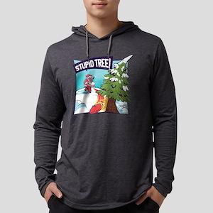 Santa Claus Stupid Tree Playin Long Sleeve T-Shirt