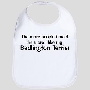 I like my Bedlington Terrier Bib