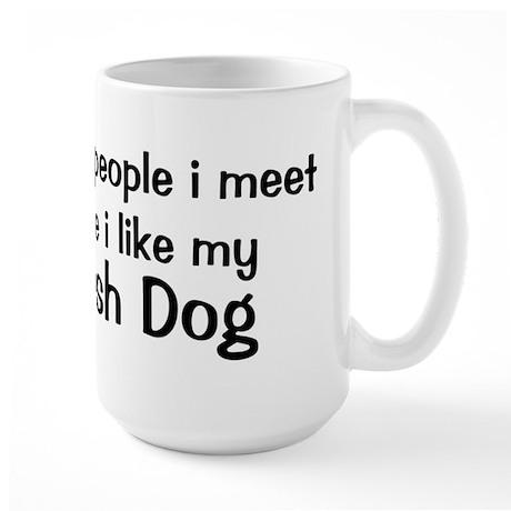 I like my Akbash Dog Large Mug