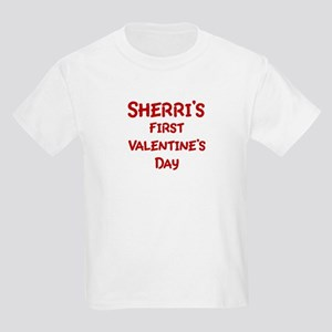 Sherris First Valentines Day Kids Light T-Shirt
