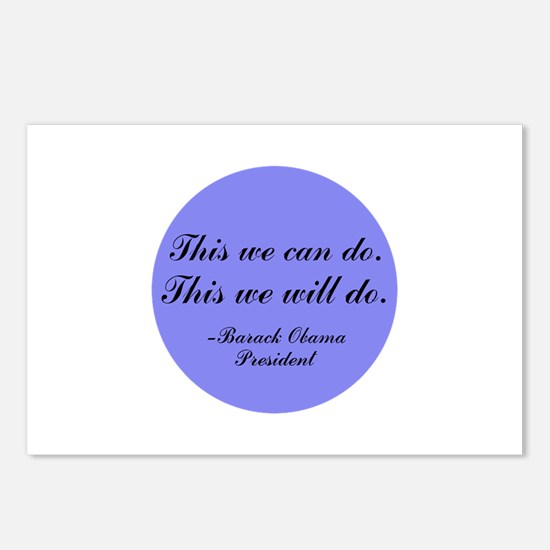 This We Will Do Postcards (Package of 8)