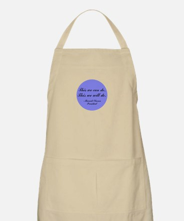 This We Will Do BBQ Apron