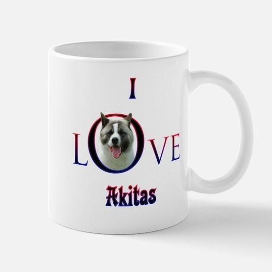 Akita I Love Mug