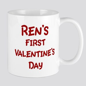 Rens First Valentines Day Mug