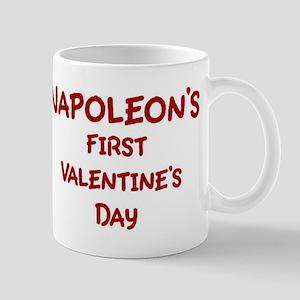 Napoleons First Valentines Da Mug