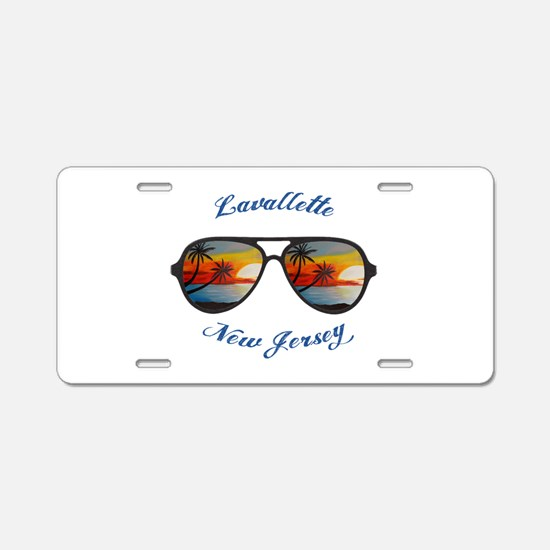 New Jersey - Lavallette Aluminum License Plate