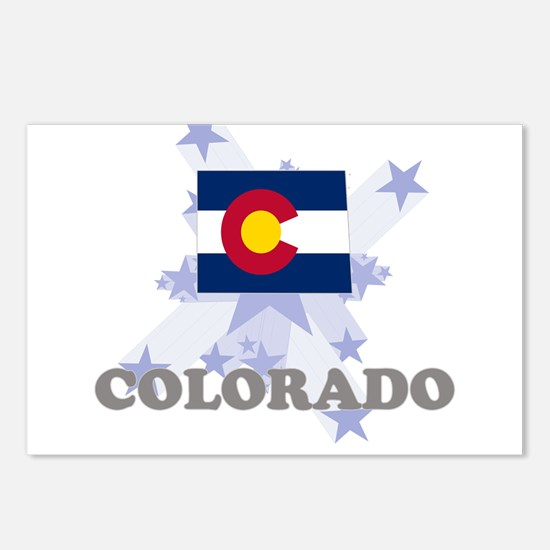 All Star Colorado Postcards (Package of 8)