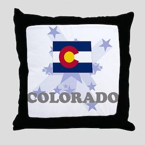 All Star Colorado Throw Pillow