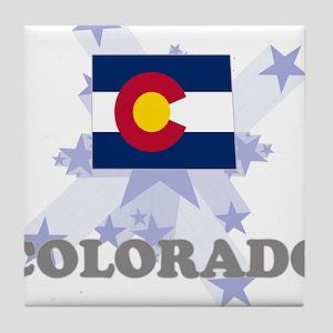 All Star Colorado Tile Coaster
