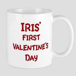 Iriss First Valentines Day Mug
