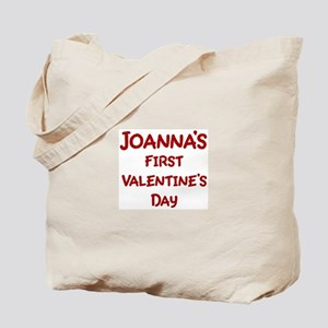 Joannas First Valentines Day Tote Bag
