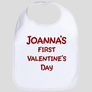 Joannas First Valentines Day Bib