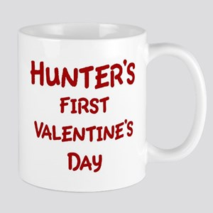 Hunters First Valentines Day Mug