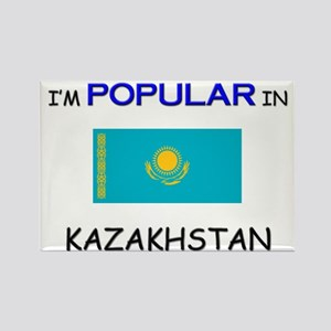 I'm Popular In KAZAKHSTAN Rectangle Magnet