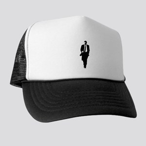 Big Obama Silhouette Trucker Hat