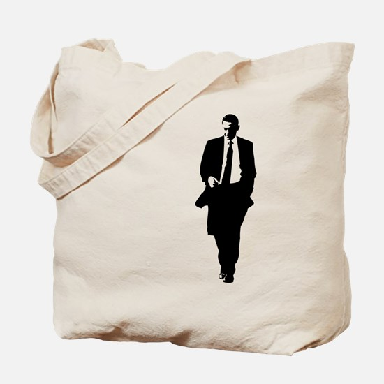 Big Obama Silhouette Tote Bag