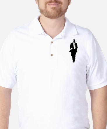 Big Obama Silhouette Golf Shirt