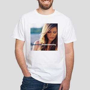 Megan Munroe White T-Shirt