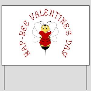 Hapbee Valentines Day Yard Signs Cafepress