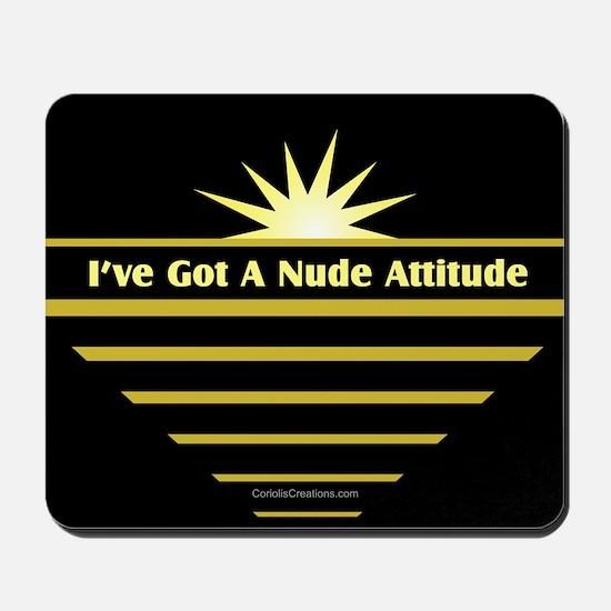 Nude Attitude - Mousepad