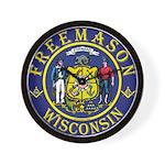 Wisconsin Masons Wall Clock