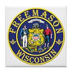 Wisconsin Masons Tile Coaster