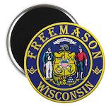 Wisconsin Masons Magnet