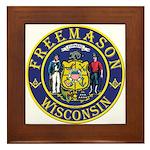 Wisconsin Masons Framed Tile