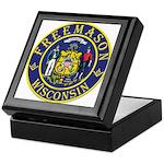 Wisconsin Masons Keepsake Box