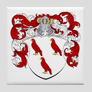 Van Rossum Coat of Arms Tile Coaster