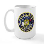 Wisconsin Masons Large Mug
