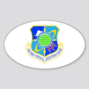 Technical Applications Oval Sticker
