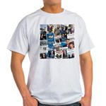 Historic Inauguration Headlines Light T-Shirt