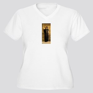 Godward Women's Plus Size V-Neck T-Shirt