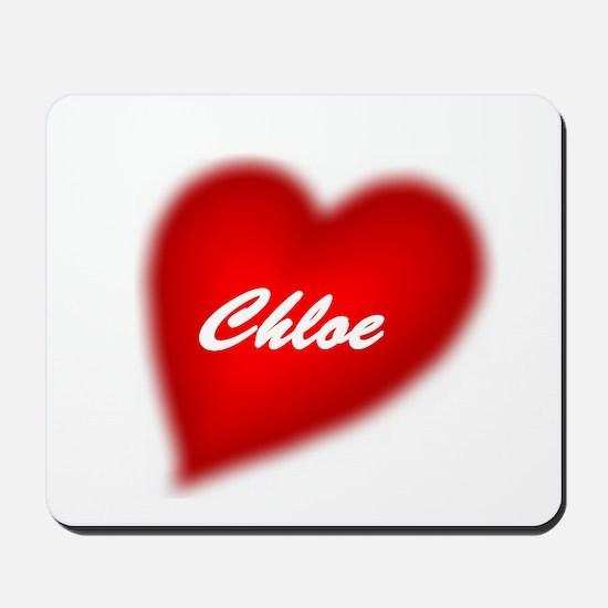 I love Chloe products Mousepad