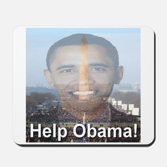 Help Obama Mousepad