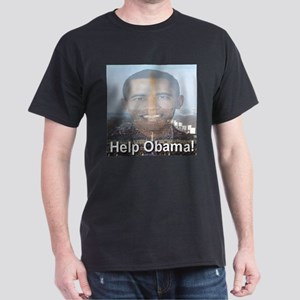 Help Obama Dark T-Shirt