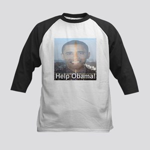 Help Obama Kids Baseball Jersey