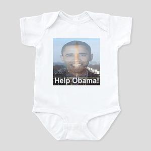 Help Obama Infant Bodysuit