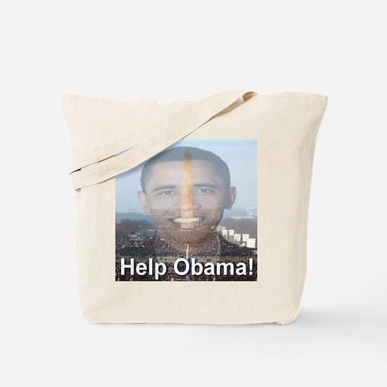 Help Obama Tote Bag