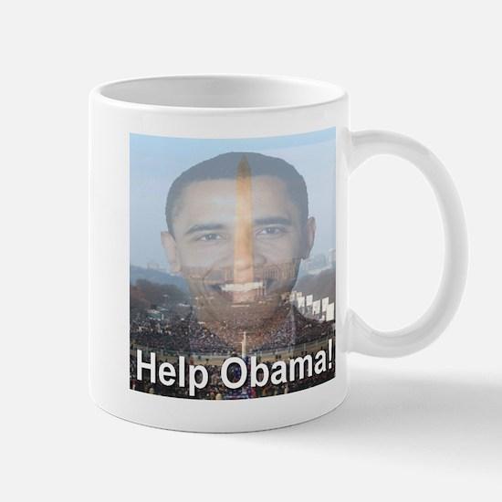 Help Obama Mug