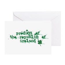 Republic of Ireland Greeting Card