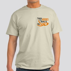 Heroes Among Us KIDNEY CANCER Light T-Shirt