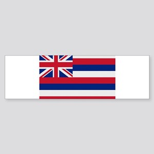 Beloved Hawaii Flag Modern St Sticker (Bumper 10 p