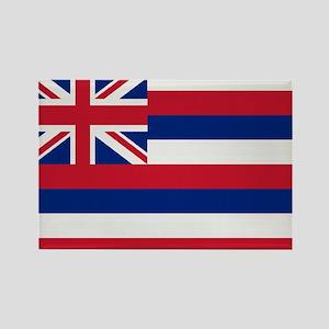 Beloved Hawaii Flag Modern St Rectangle Magnet