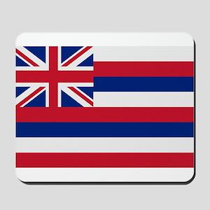 Beloved Hawaii Flag Modern St Mousepad