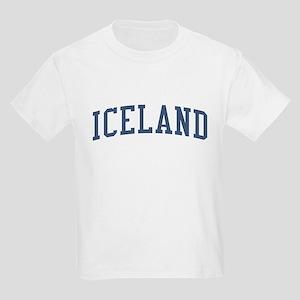 Iceland Blue Kids Light T-Shirt