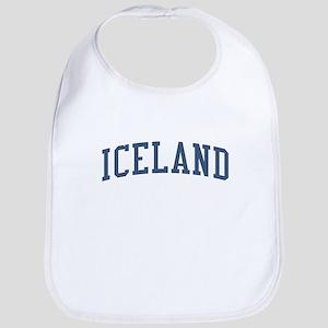 Iceland Blue Bib