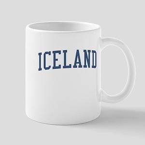 Iceland Blue Mug