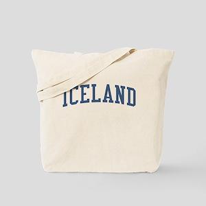 Iceland Blue Tote Bag